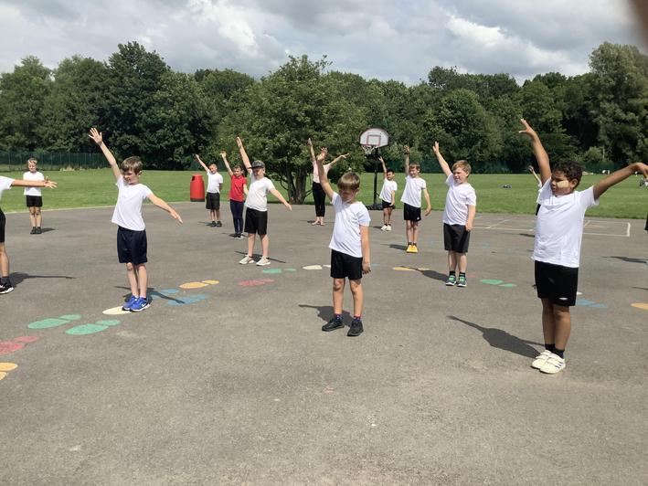 End of term fun Zumba session