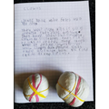 Writing about clowns and homemade juggling balls