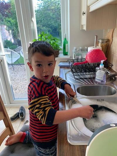 Washing up!!