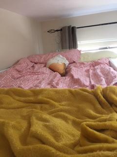 Freya B changed her bedding