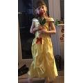 Lauren looking lovely as Belle!