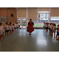 We learned a Flamenco dance.