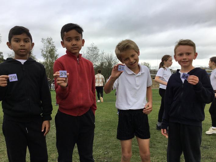 Year 4 boys - fantastic effort