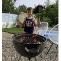 Ethan's BBQ skills