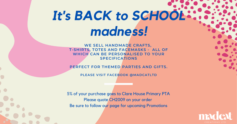 5% of your purchase goes to the PTA using code CH2009.