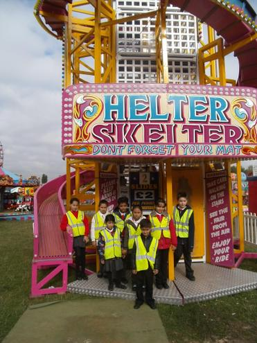 We go up the Helter Skelter to come back down!
