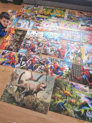 100, 250 and 300 piece puzzles!