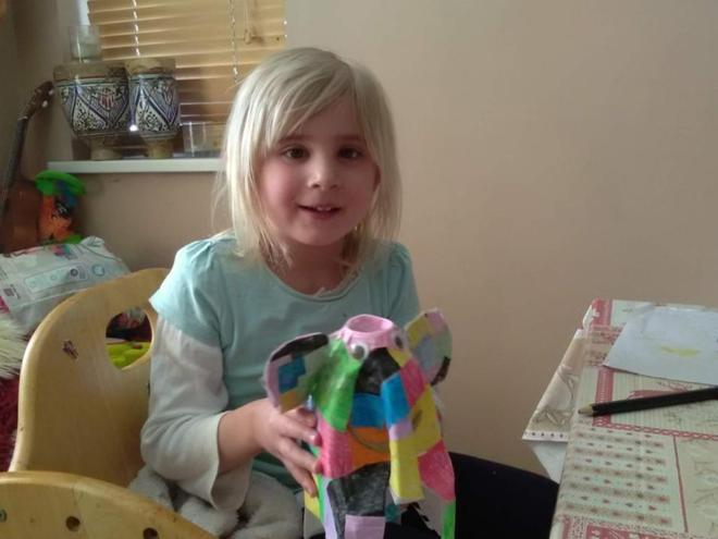 What a lovely Elmer you made!