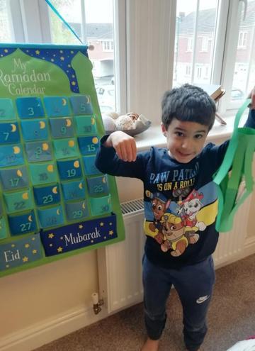 Thank you for showing us your Ramadan Calendar.