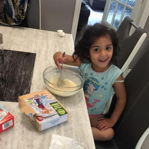Busy making something yummy!