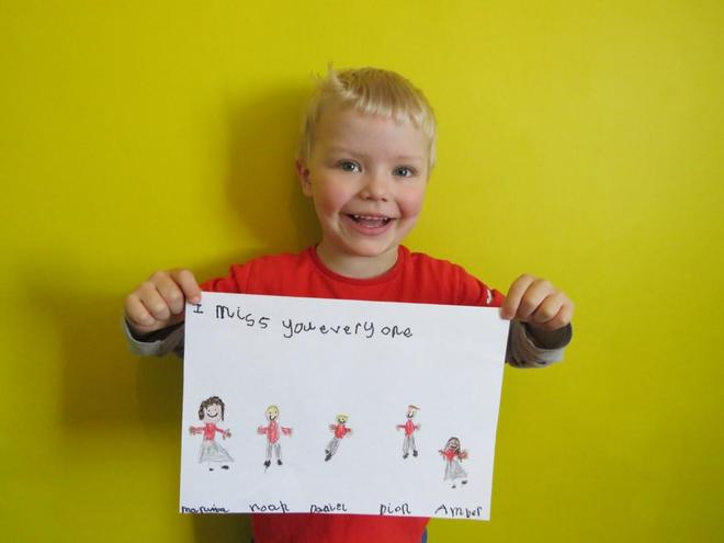 Super drawing and writing!