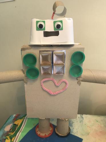 What a super robot!
