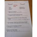 Max's Quiz Answers