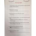 Winston's quiz answers