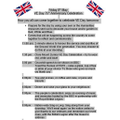 VE Day Itinerary