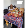 Mrs Webster's party for one!