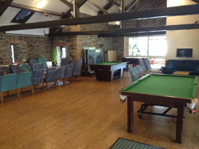 The centres games room