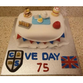 Miss Durkin's amazing VE Day cake