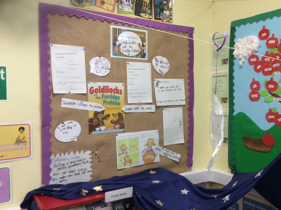 Reading Corner display