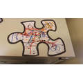 We created our own jigsaw pieces.