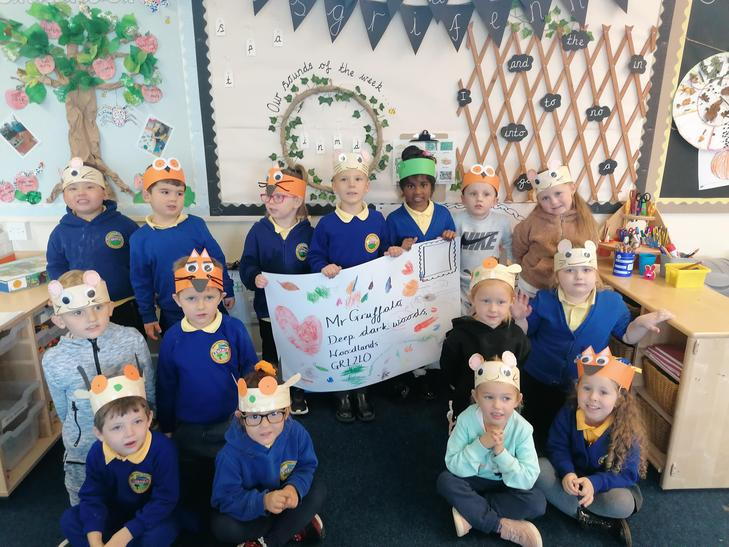 Inviting the Gruffalo to our Harvest Soup Party