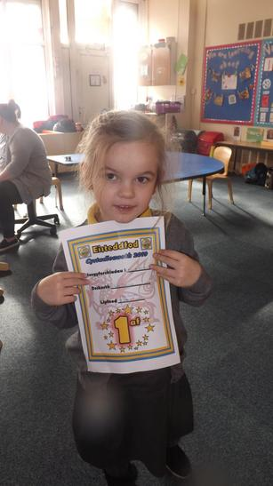 We had a competition for the Eisteddfod