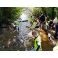 Measuring the health of the River through kick sampling