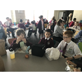 Lunchtime as an Evacuee!