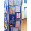 Year 6's multi media 'bird in a cage' project