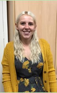 Hi I am Miss Jennings- Class Teacher in Reception Green