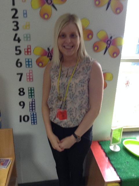 Hi I am Miss Walker-Class Teacher