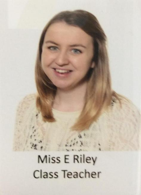Mrs Riley 6 Blue Teacher