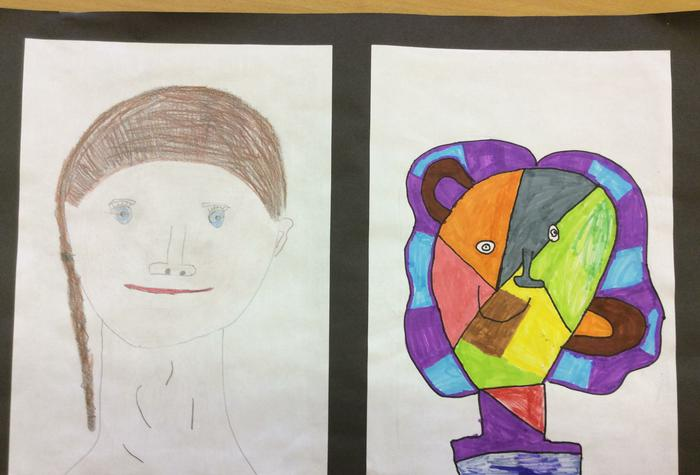 Self Portraits - Picasso style