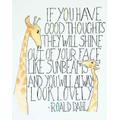 Day #54 Good thoughts make you shine!