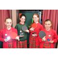 U11 Girls' Table Tennis