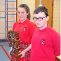Kingscliffe win the house trophy
