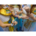 Making bangles!