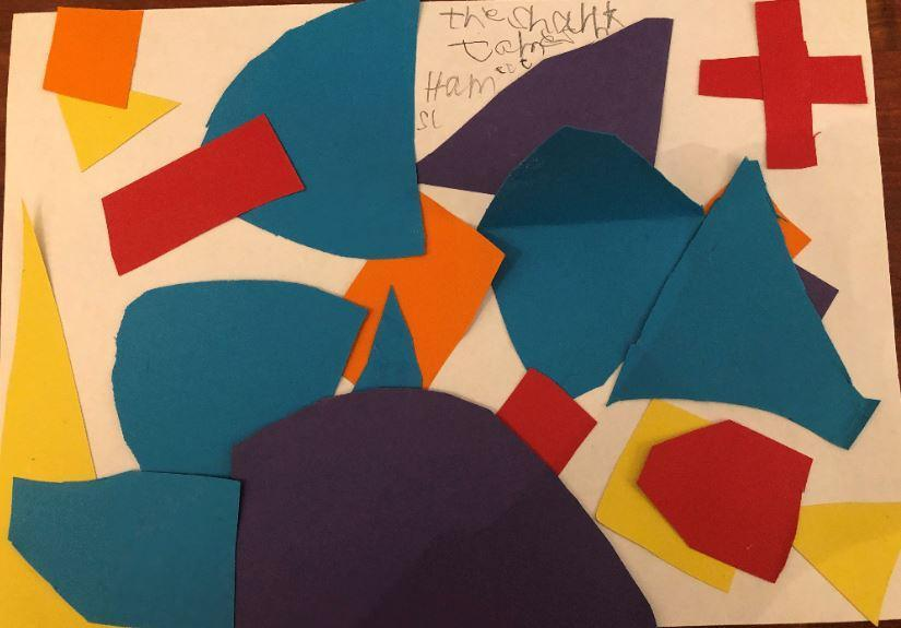 Jame 2L 'Shark' in the style of Matisse
