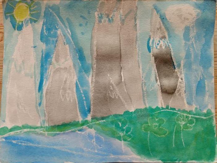 Turner inspired watercolour by Hazel 1W