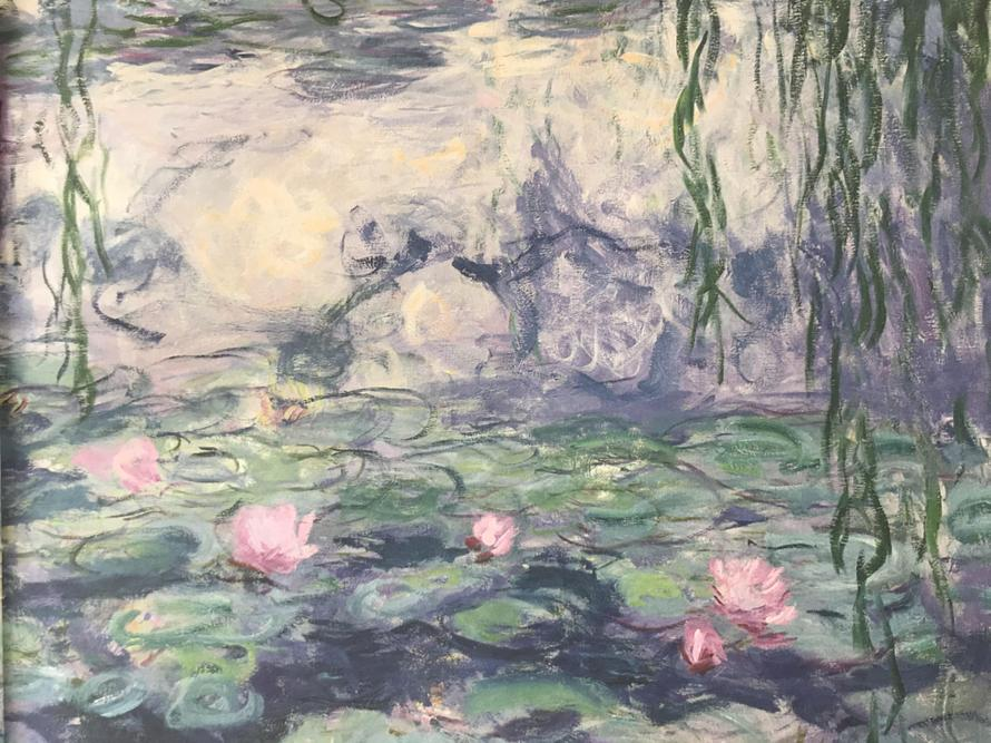 The original Monet painting.