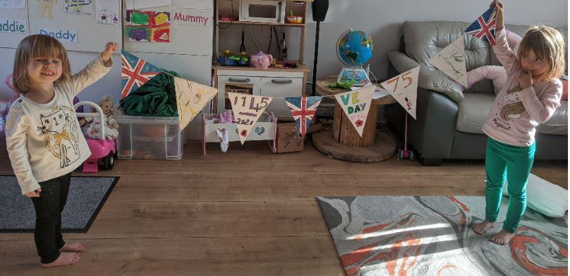 by Maddie (1W) and Lily (Nursery)