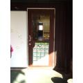door to toilets
