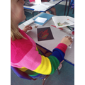 We used oil pastels to create these pictures