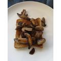 Wk2 Sat Popped on toast - scrumptious!