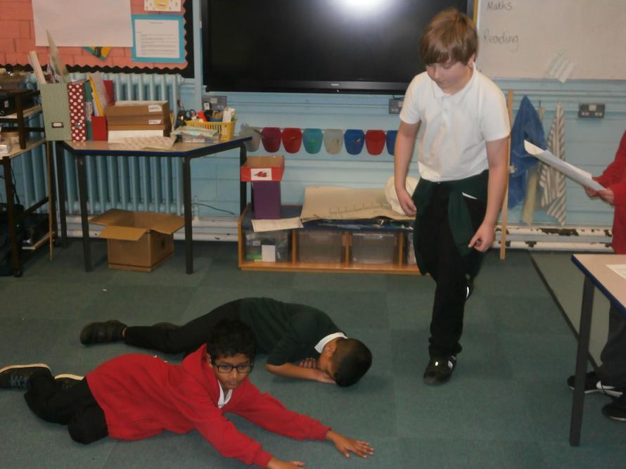 Exploring text through drama