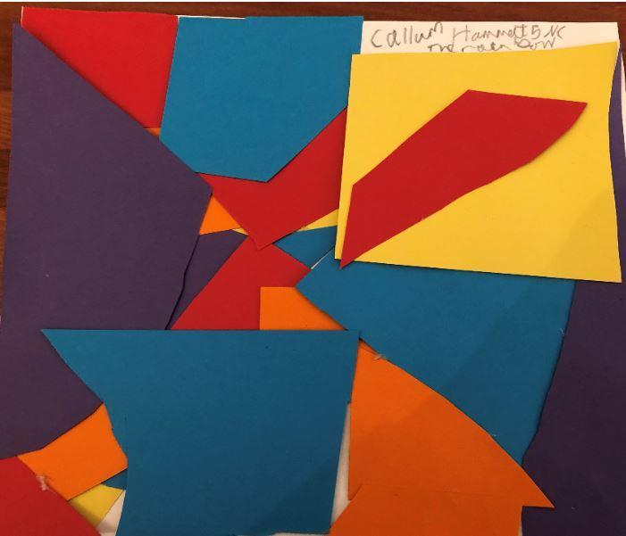 Callum 5NC 'Rainbow' in the style of Matisse