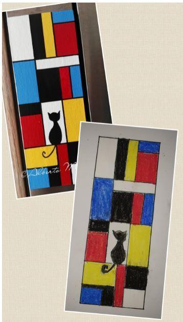 Mondrian inspired by Harsh