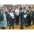 Singing assembly: Let's get active!