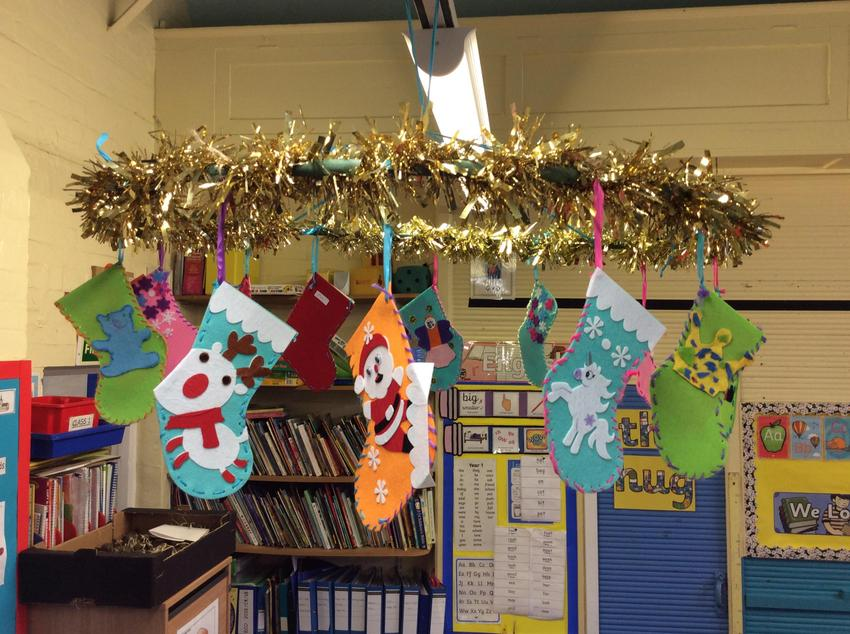Hanging Our Stockings