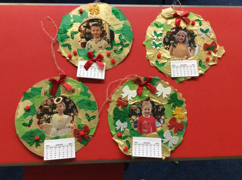 Wreath Calendars